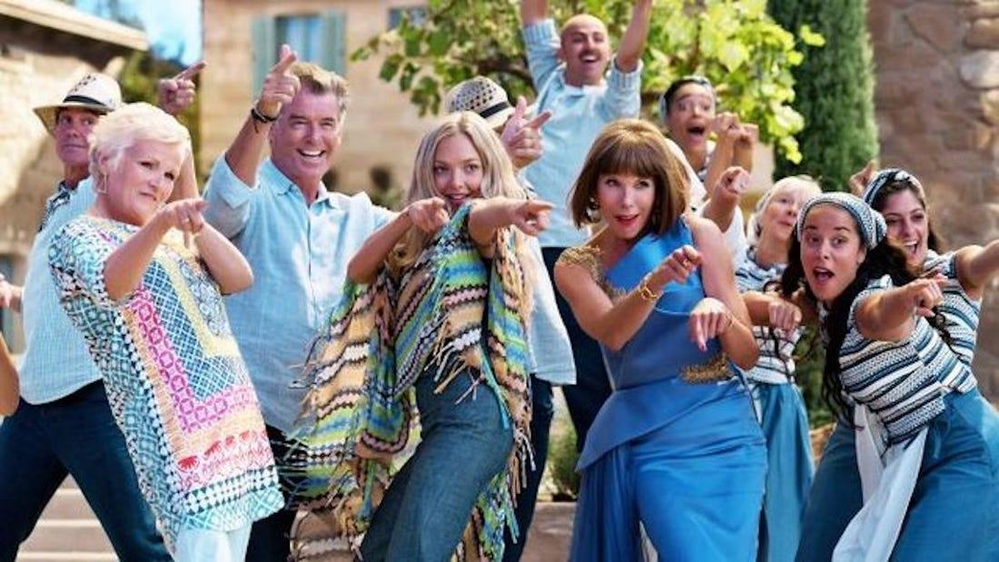 Mamma Mia dancing