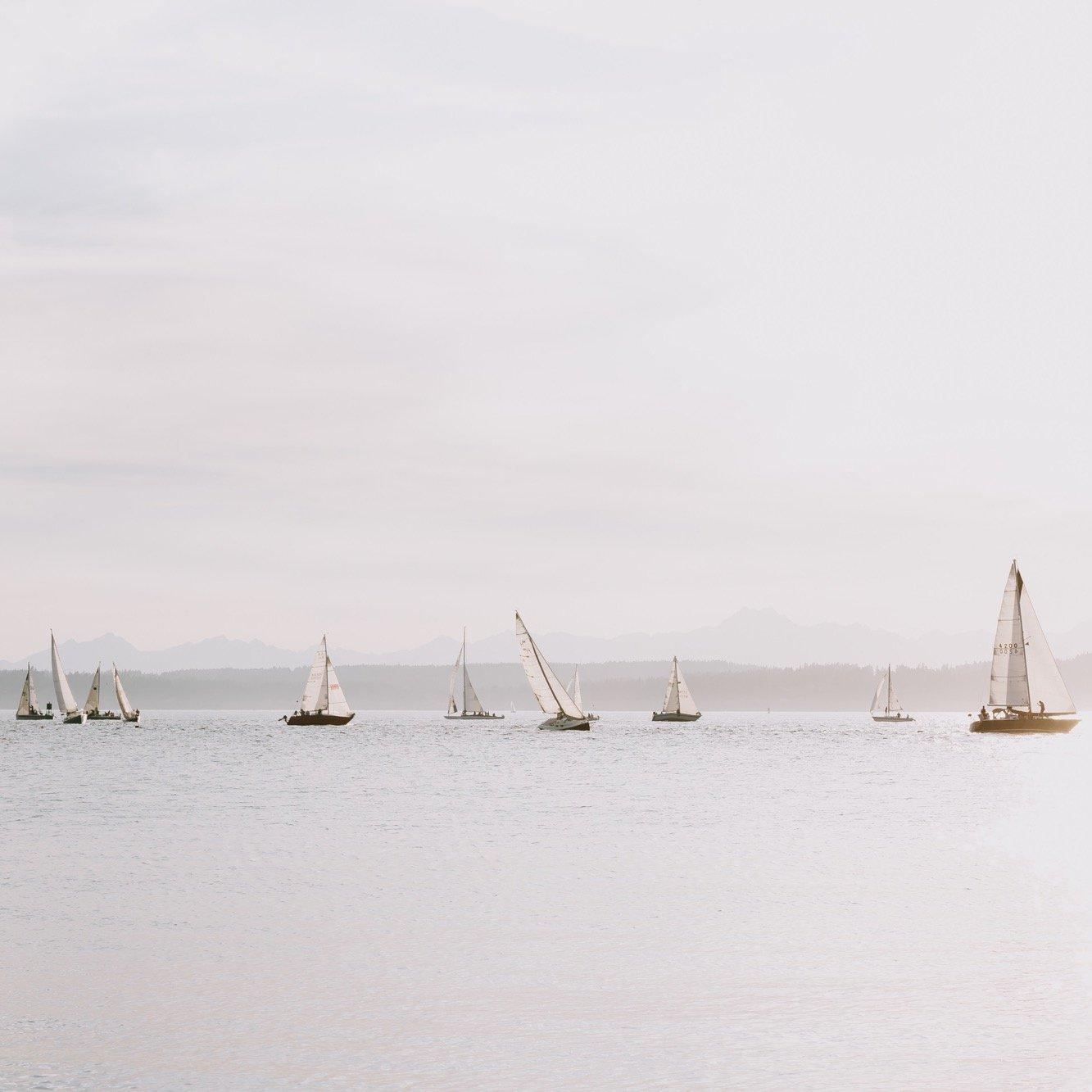 Sailboats print