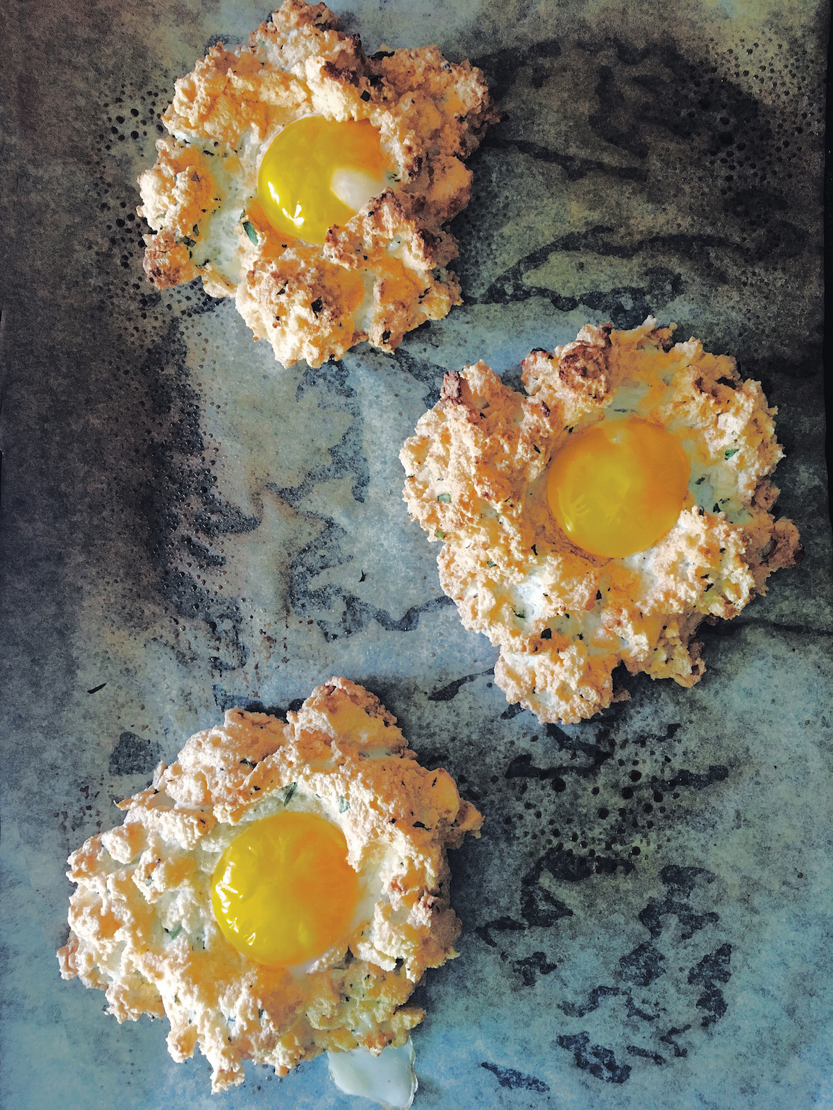 Cloud Eggs Recipe