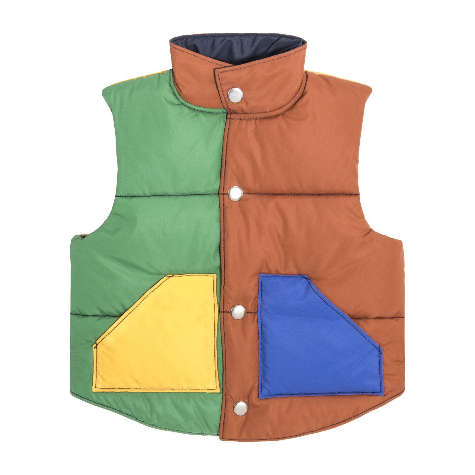 Colorblocked Vest by Maisonette