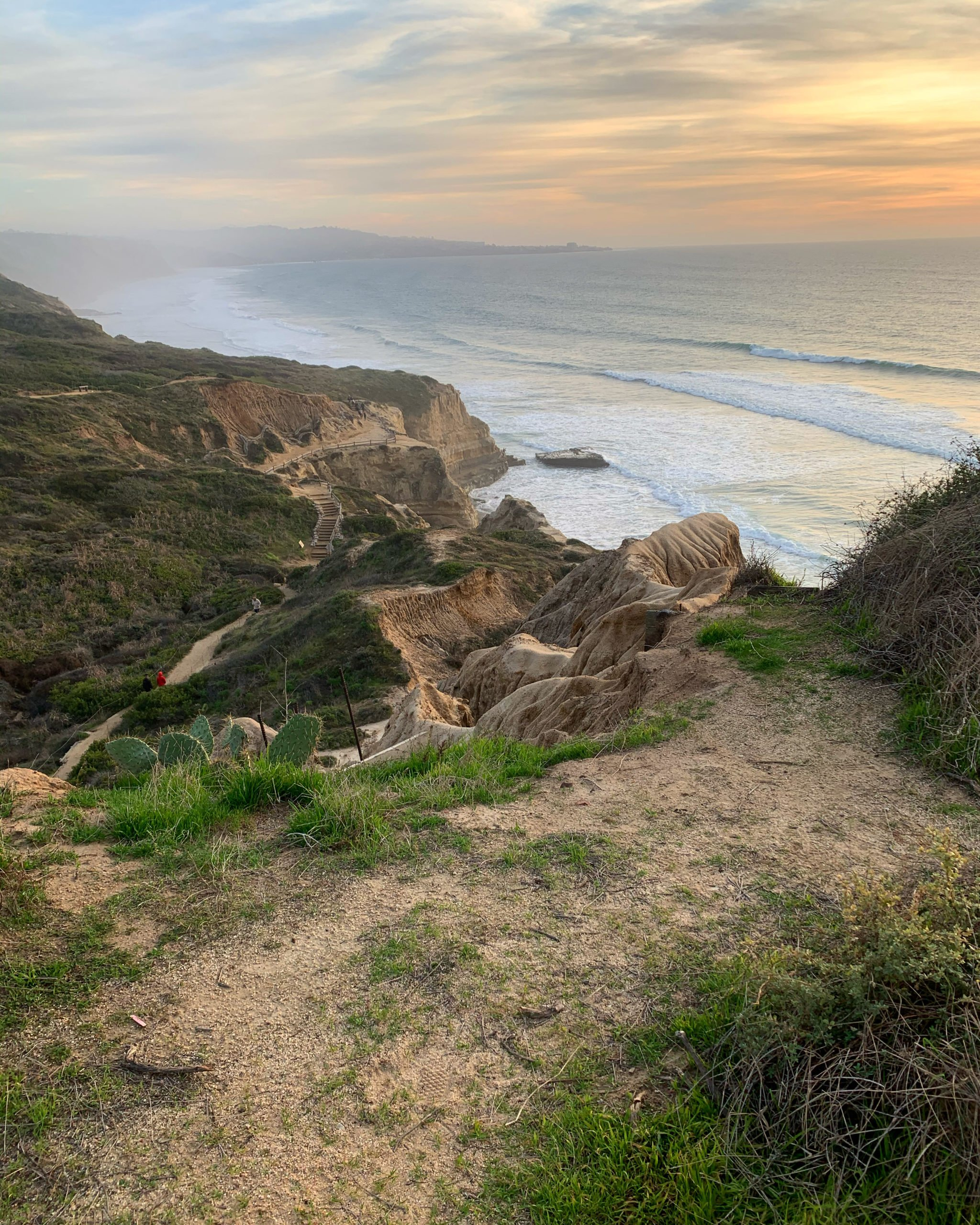 torrey pines sunset hike