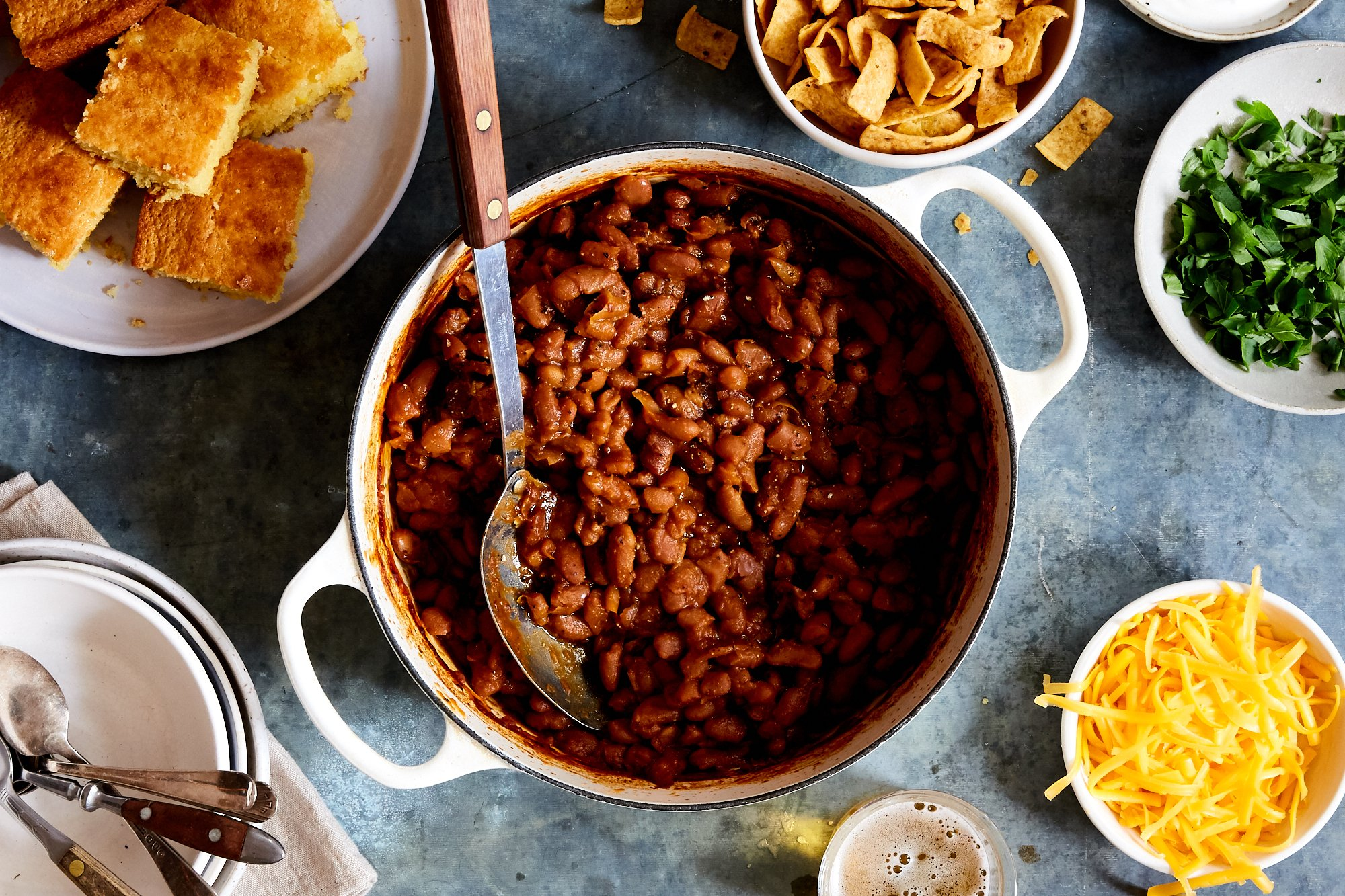 Self-Serve Baked Beans