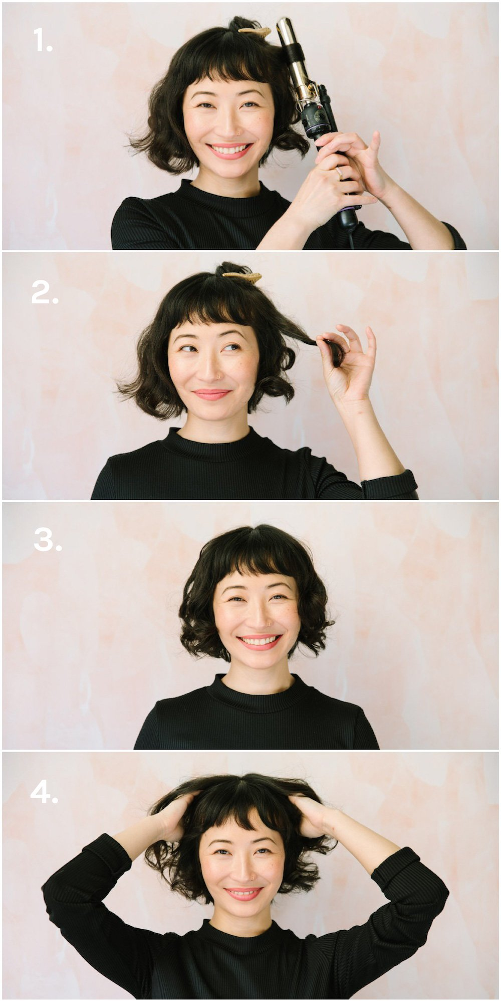 Three Short Hair Tutorials (Including Fleabag Curls!)