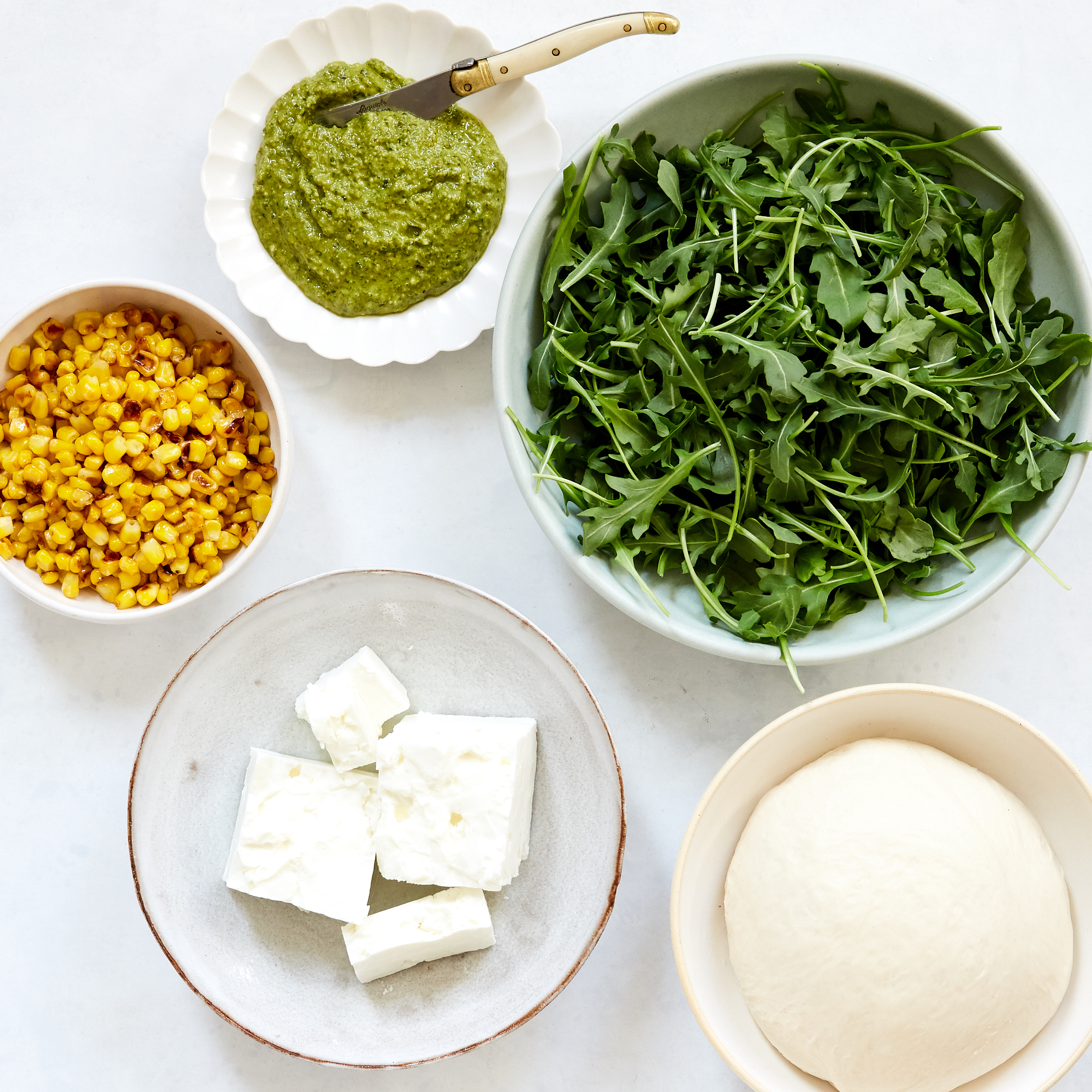 Pesto Pizza Recipe