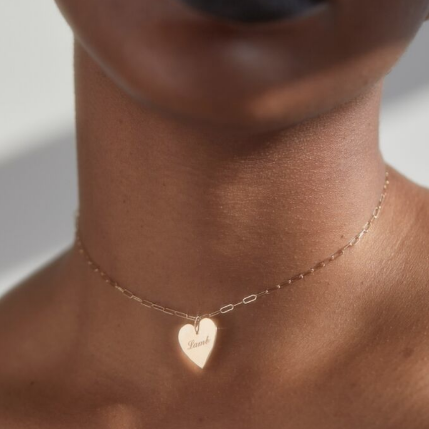 Catbird personalized necklace