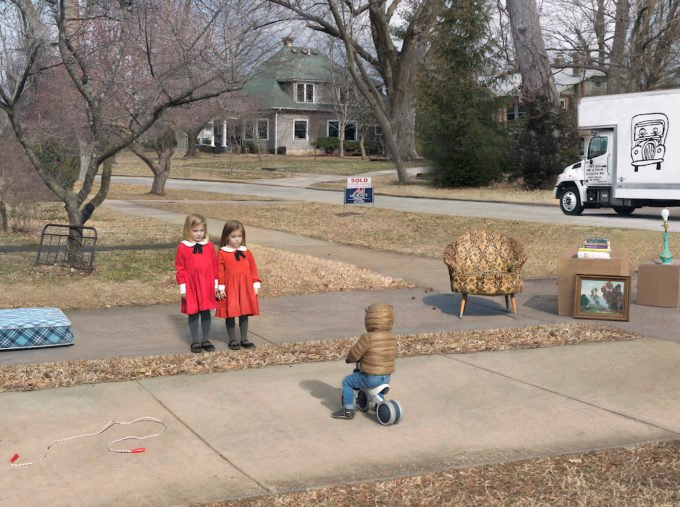 Julie Blackmon New Neighbors