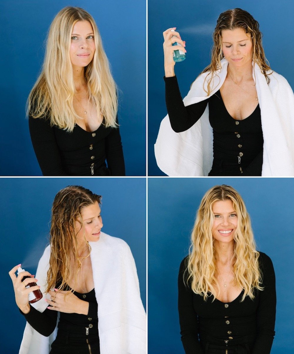 A Trick for Air Drying Your Hair | A Cup of Jo
