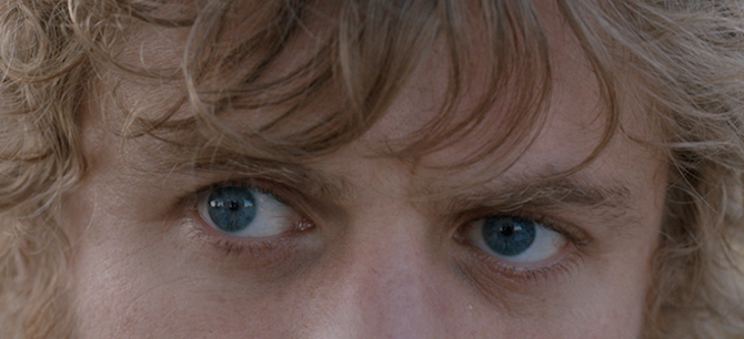 Johnny Flynn's eyes