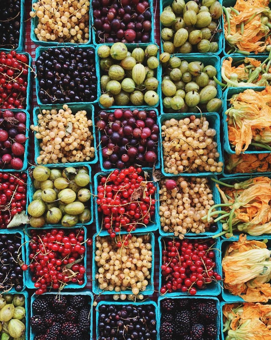 farmers market by christine han
