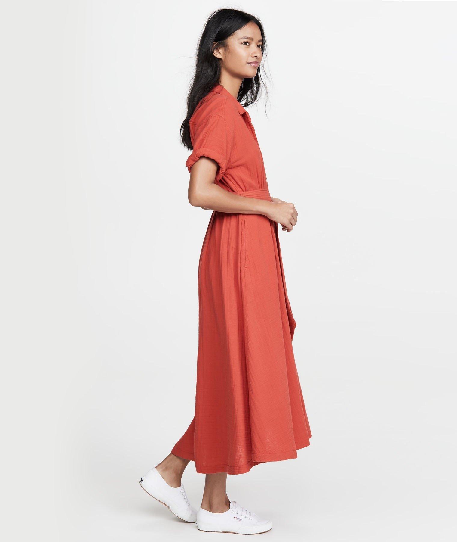Xirena red dress