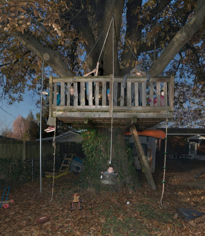 Julie Blackmon Treehouse