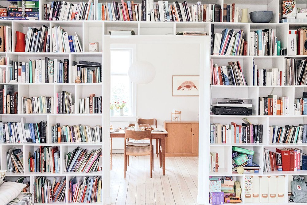 bookcase in copenhagen