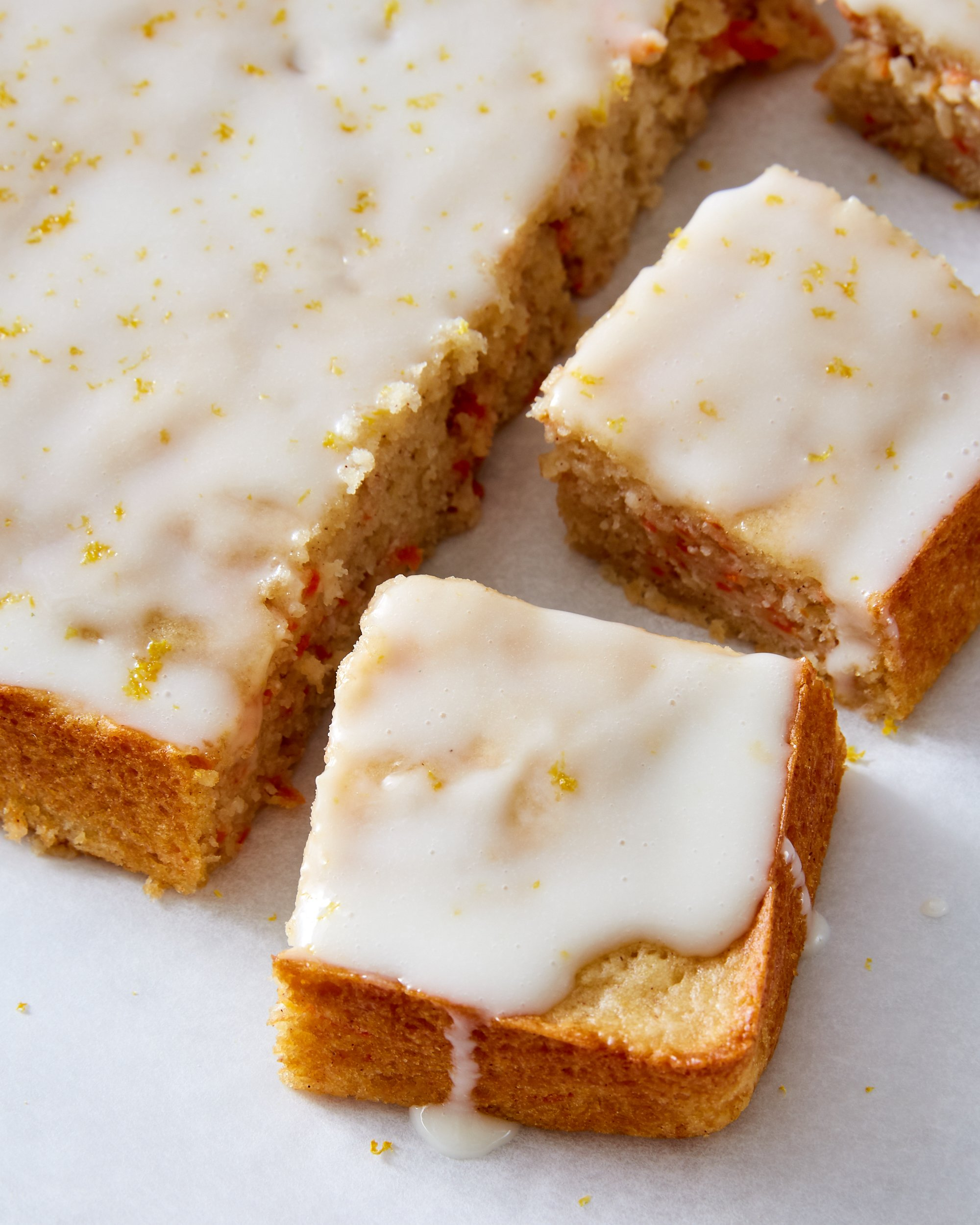 carrot cake with labneh frosting
