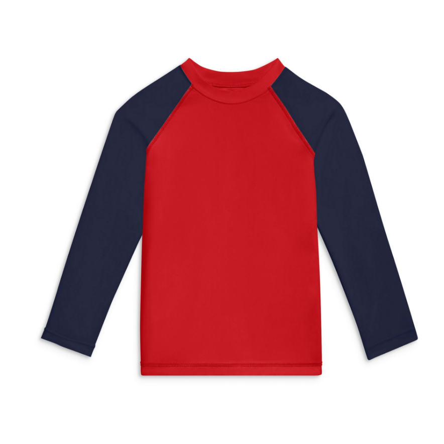 Primary Baseball Rash Guard
