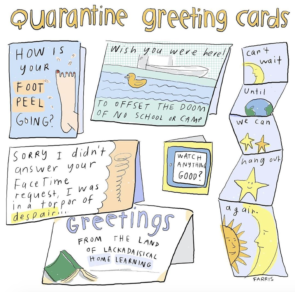 quarantine comic by grace farris