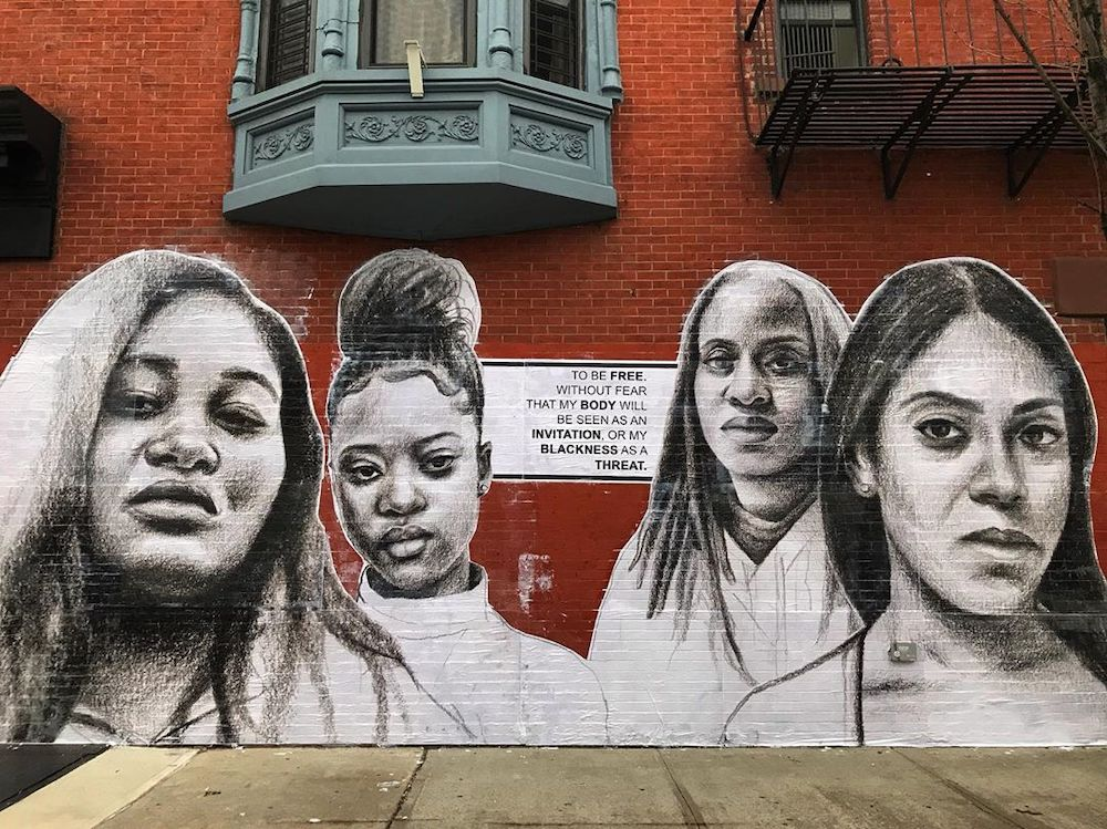 mural by Tatyana Fazlalizadeh