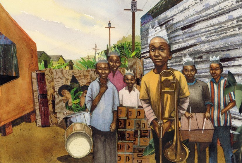 15 children's books by black authors (illustration by Bryan Collier)