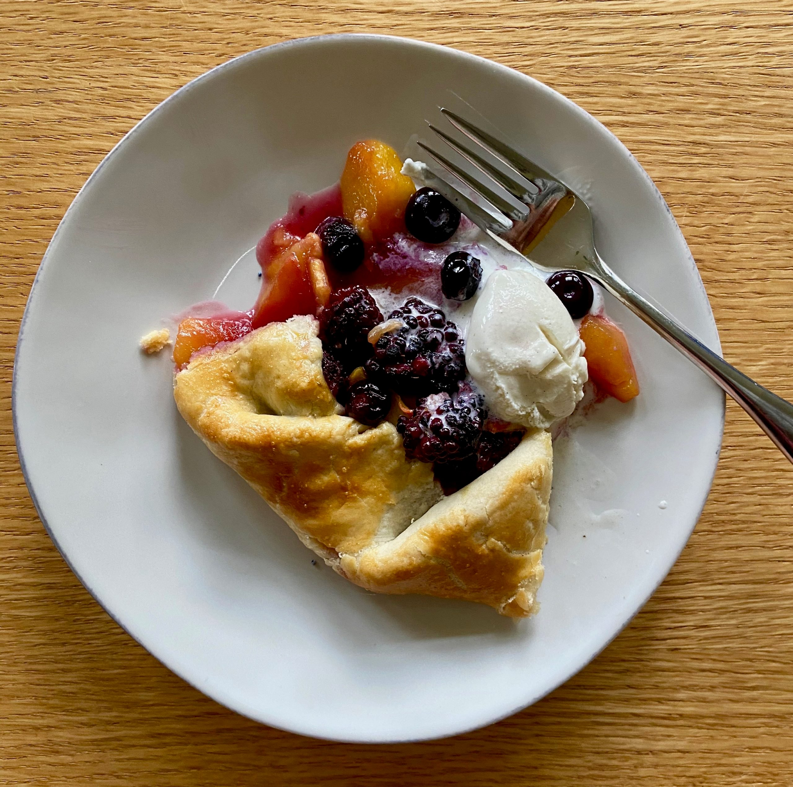 easy fruit galette formula