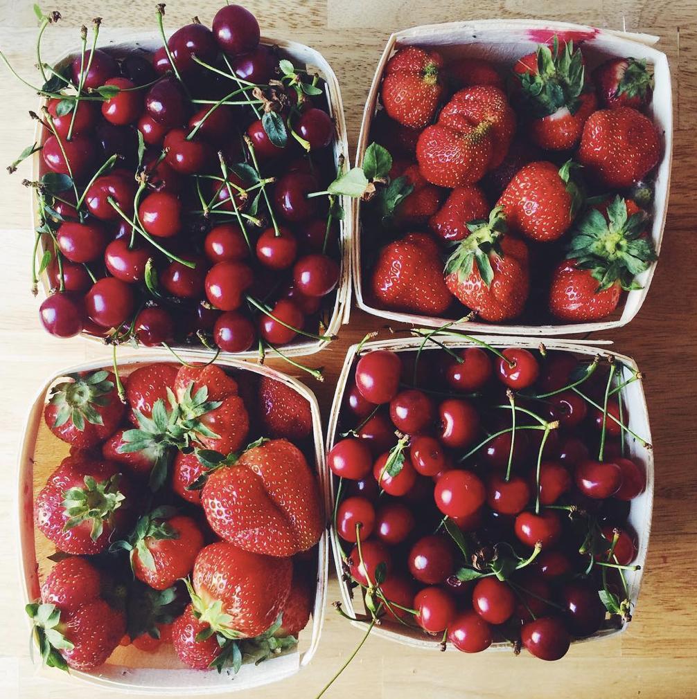 strawberries photo by deb perelman