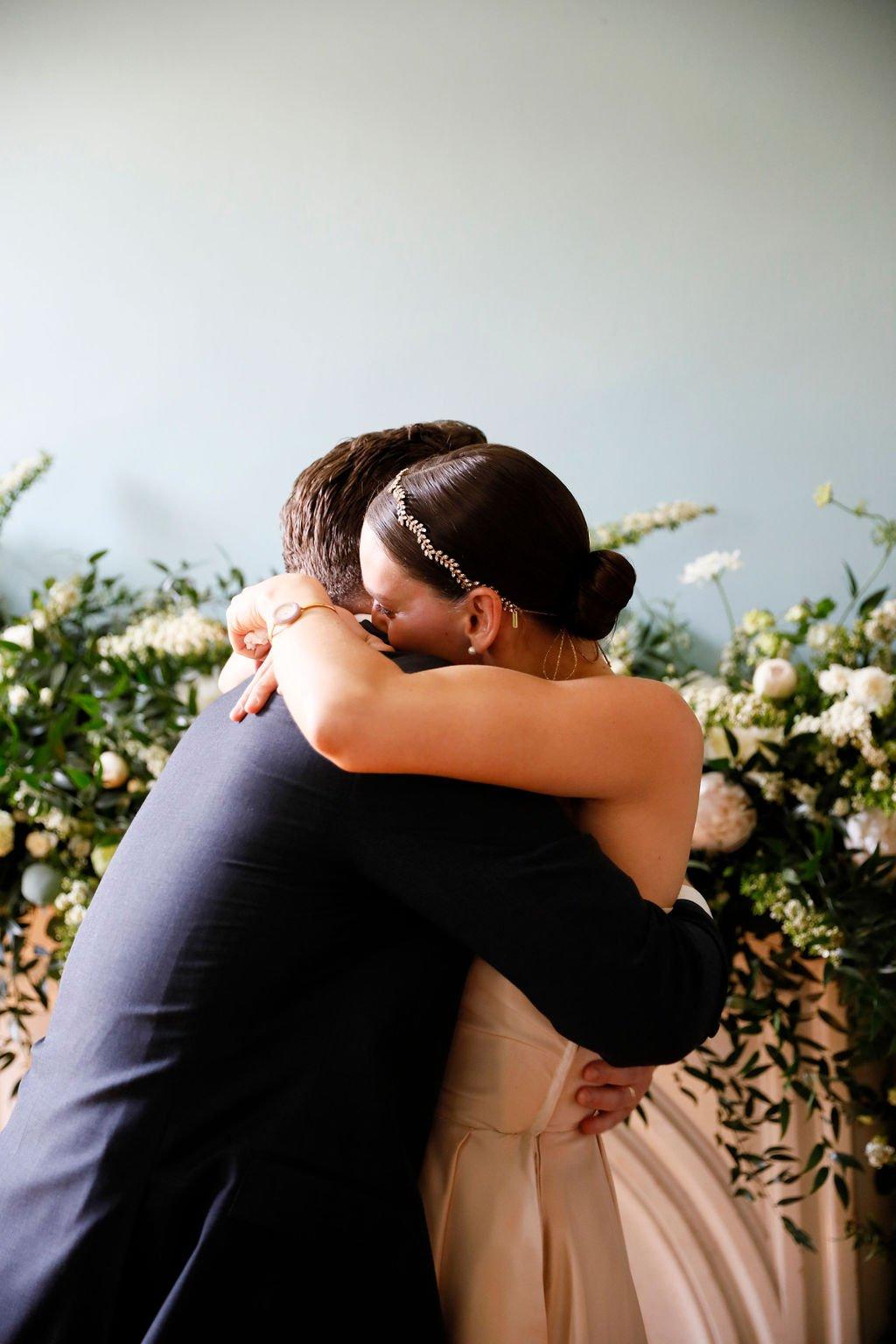 Elizabeth and Kyle's coronavirus wedding