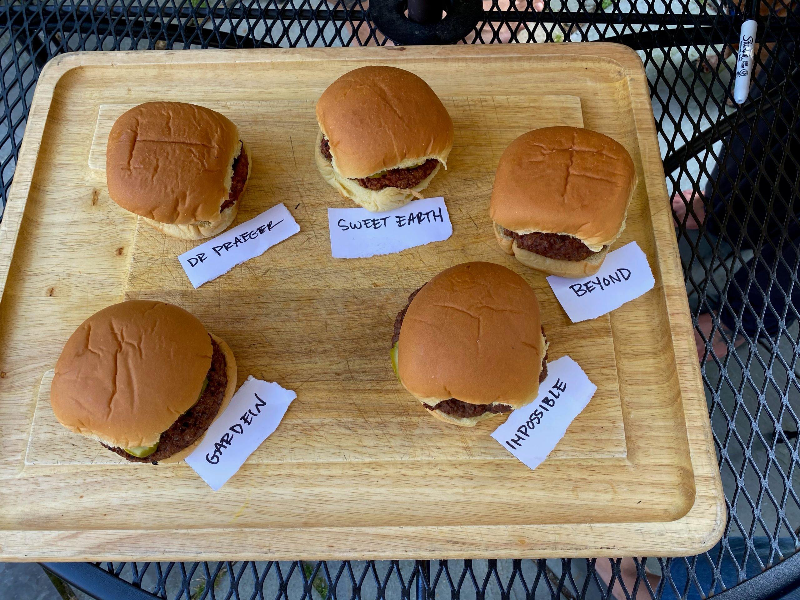 A Veggie Burger Taste Test