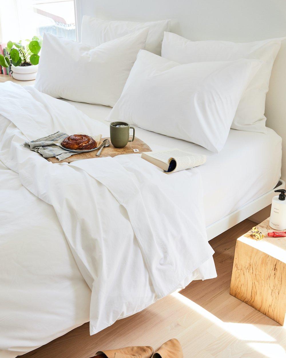 best white sheets Brooklinen