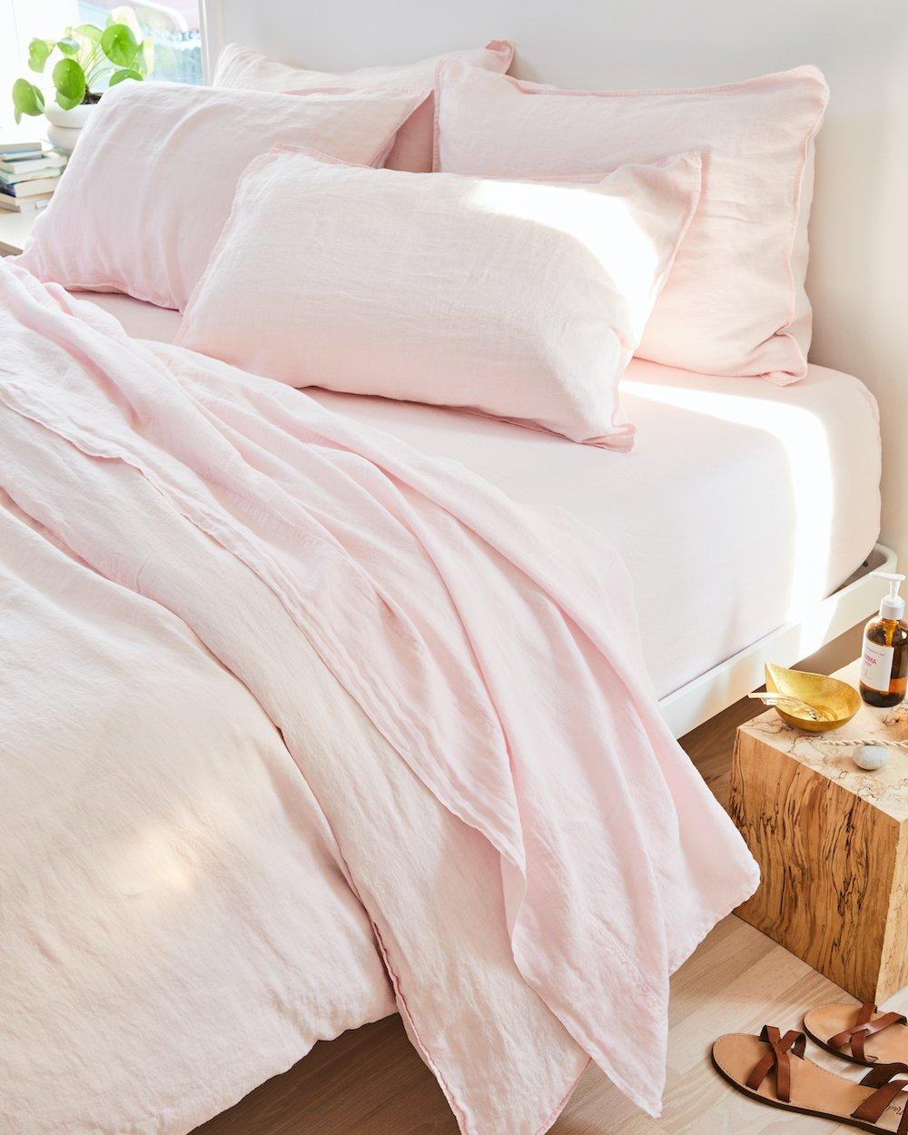 best linen bedding from Brooklinen