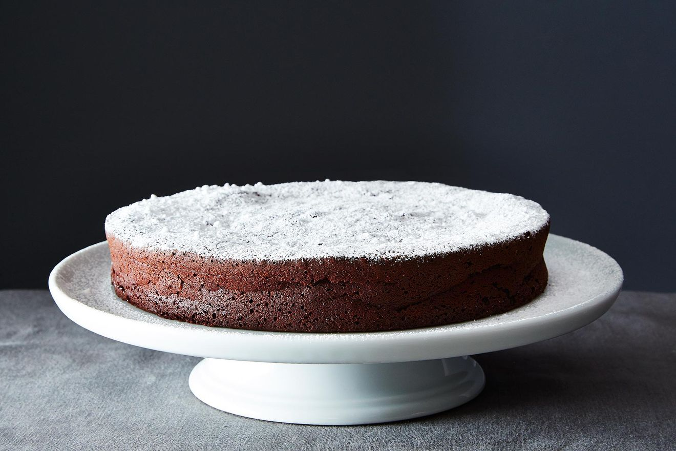 flourless chocolate cake by food52