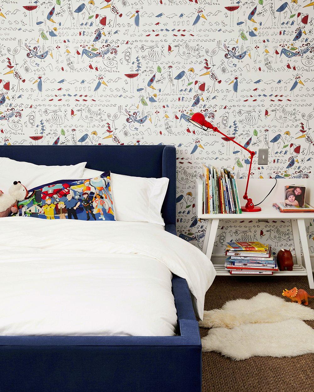 Dormitorio de Antons