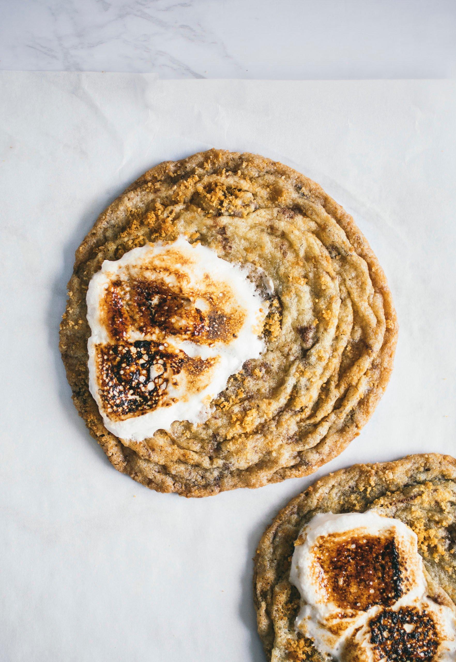 S'mores pan-banging cookies