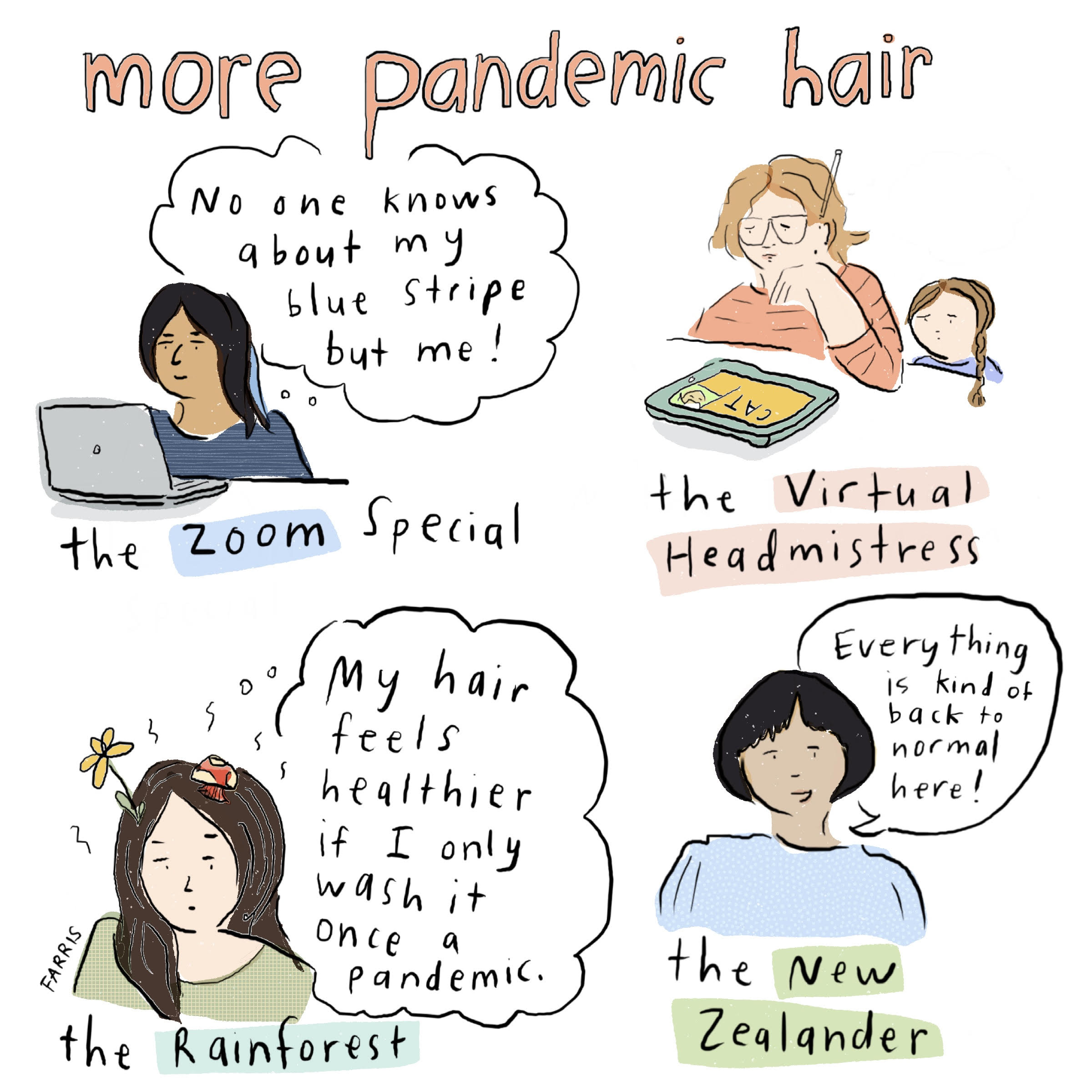 Pandemic comic by grace farris