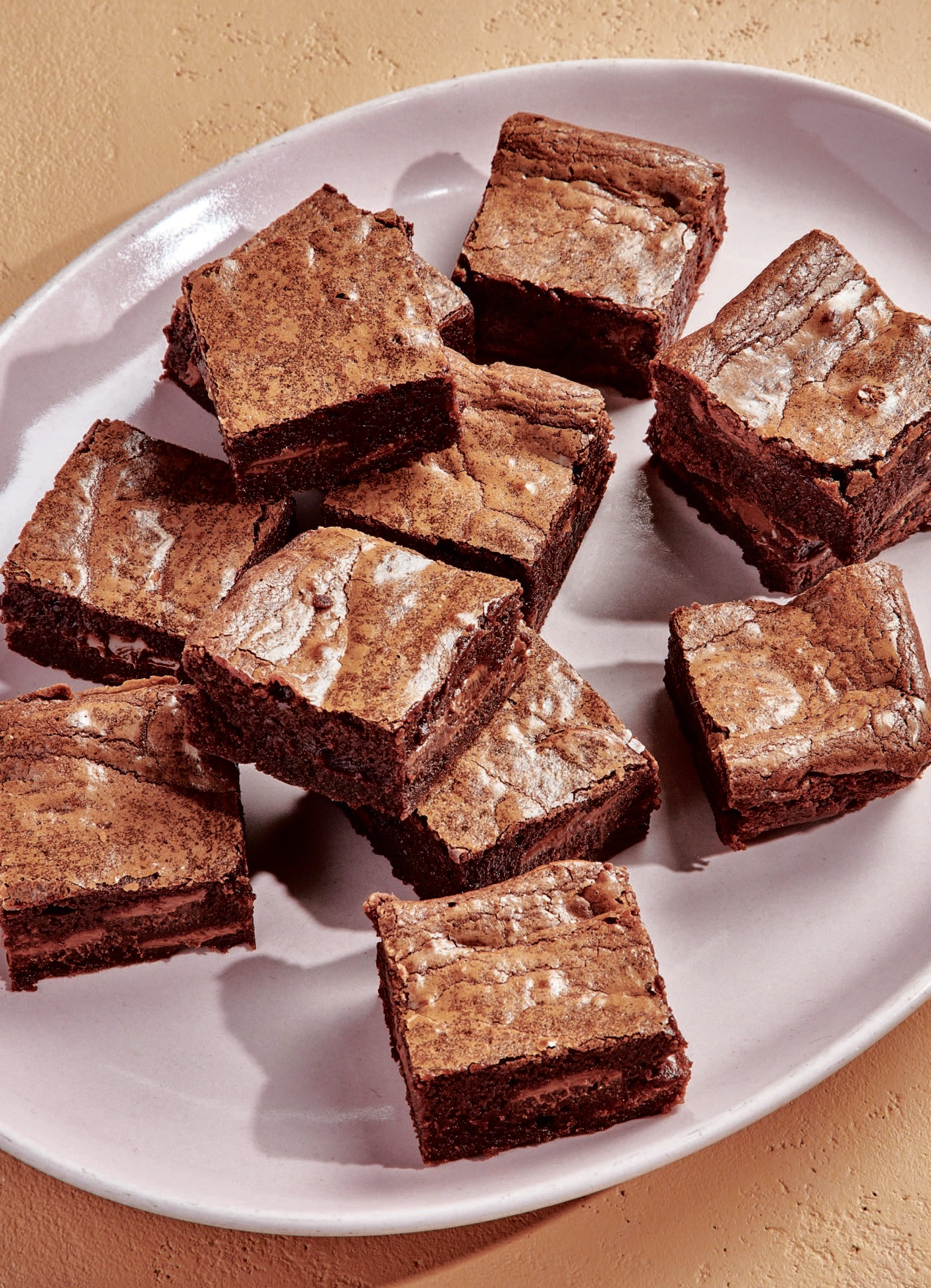 Claire Saffitz malted forever brownies