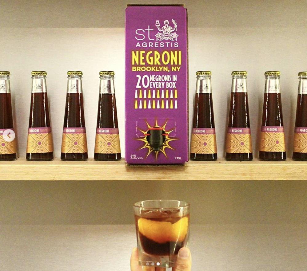 Negronis in a box