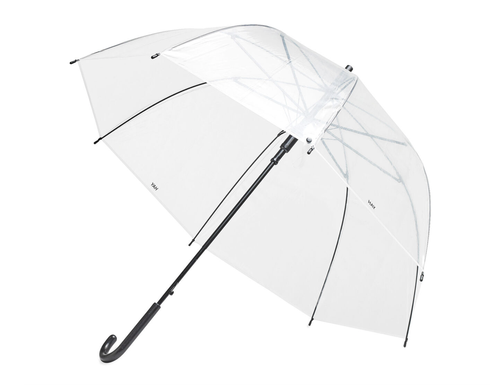 hay clear umbrella