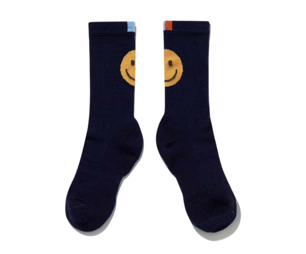 Kule socks smiley face