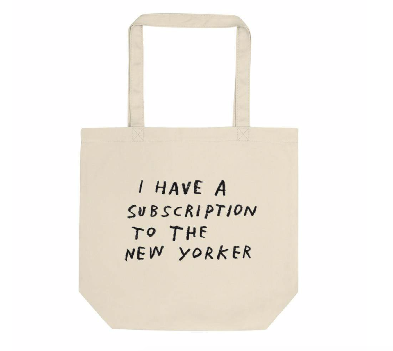 New Yorker tote by Adam JK