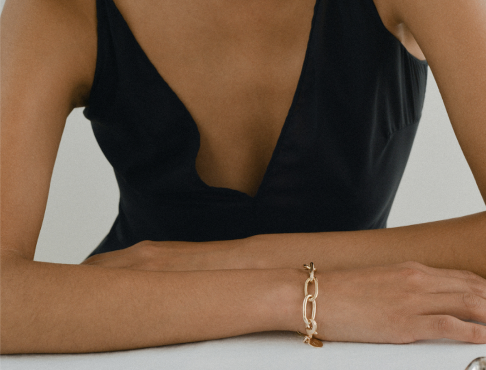 young frankk chain bracelet