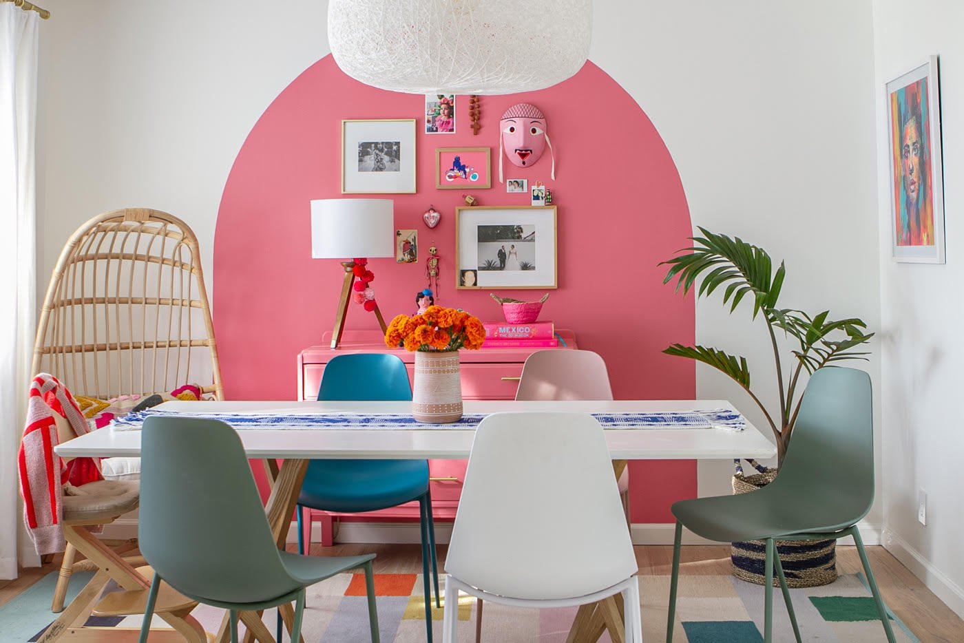 A Family Home Bursting With Bright Colors