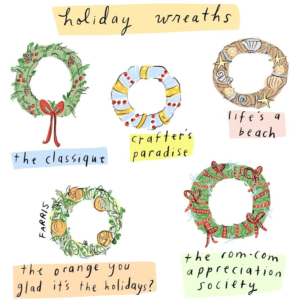 holiday comic by Grace Farris