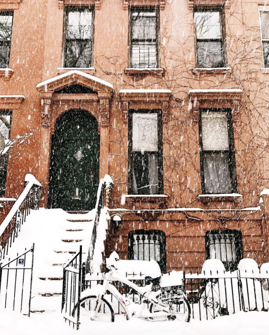 Brooklyn in the snow by Alison Piepmeyer