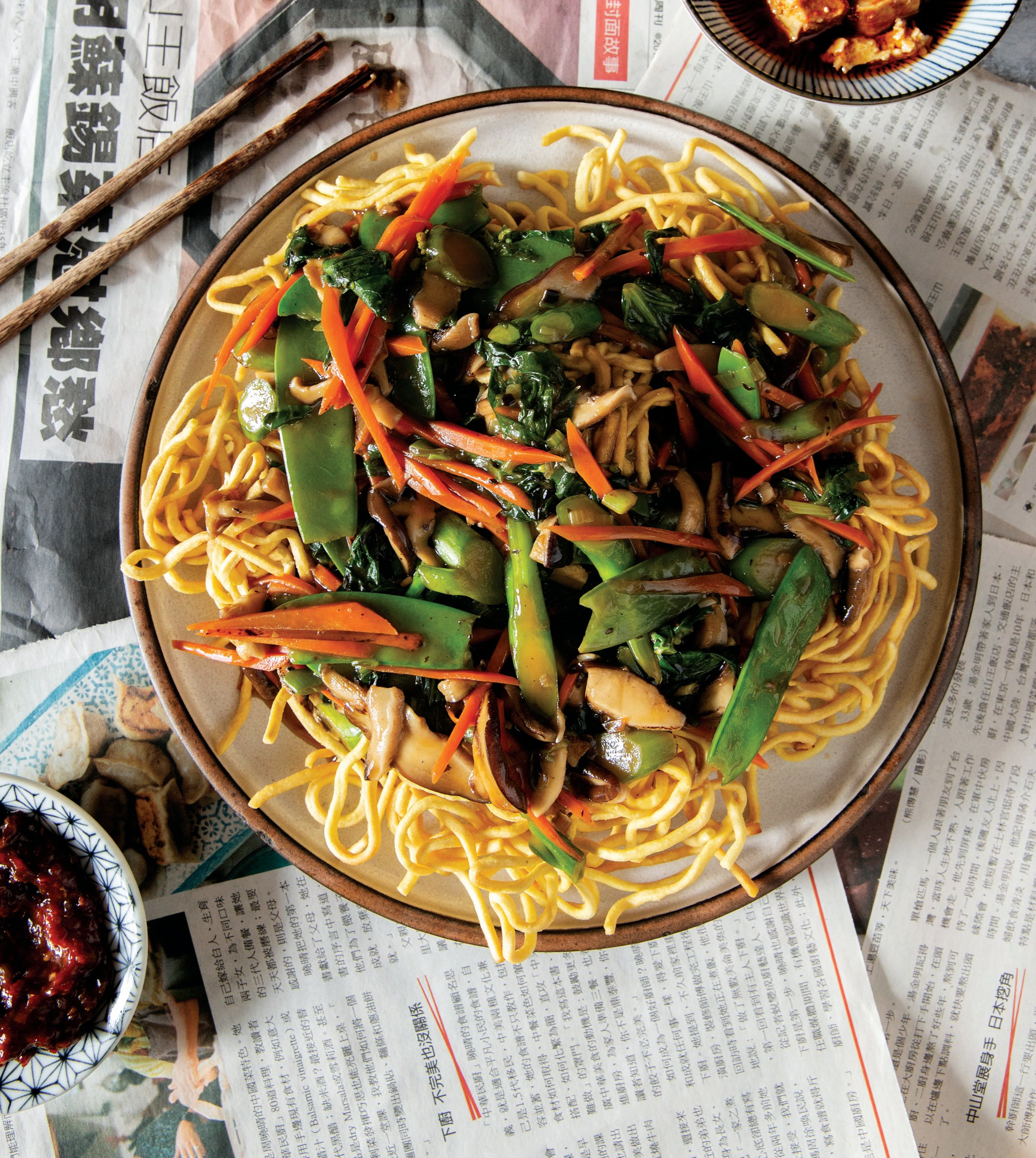Hong Kong-Style Crispy Noodles