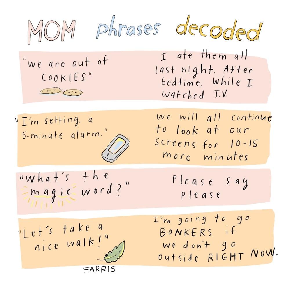 motherhood comic by Grace Farris