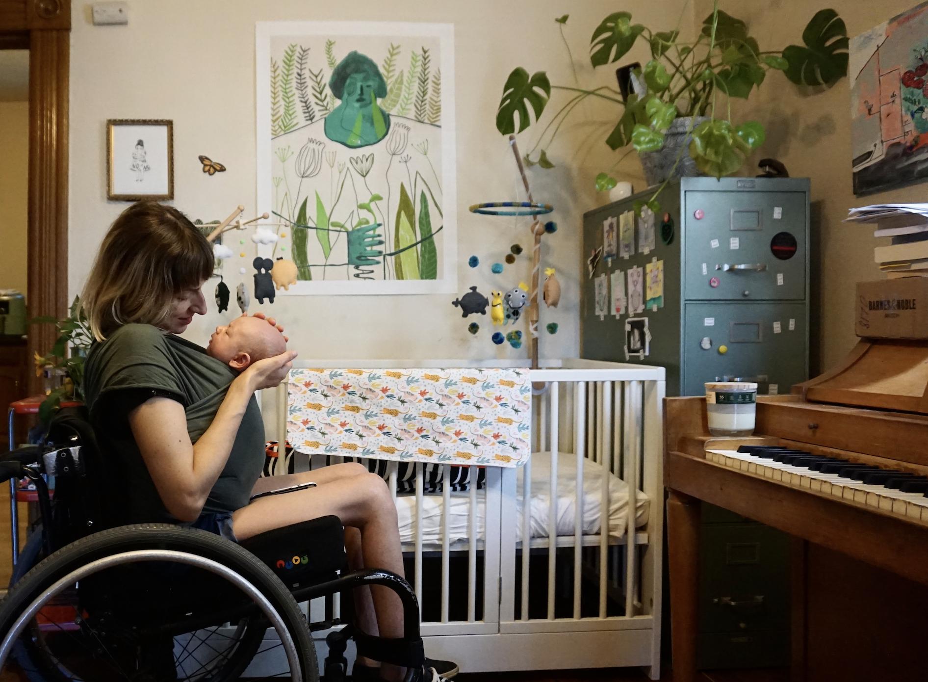 Rebekah Taussig motherhood with a disability