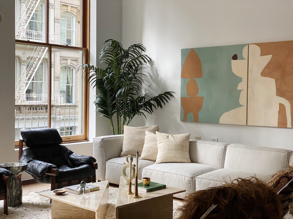 Hovey Design apartment makeover