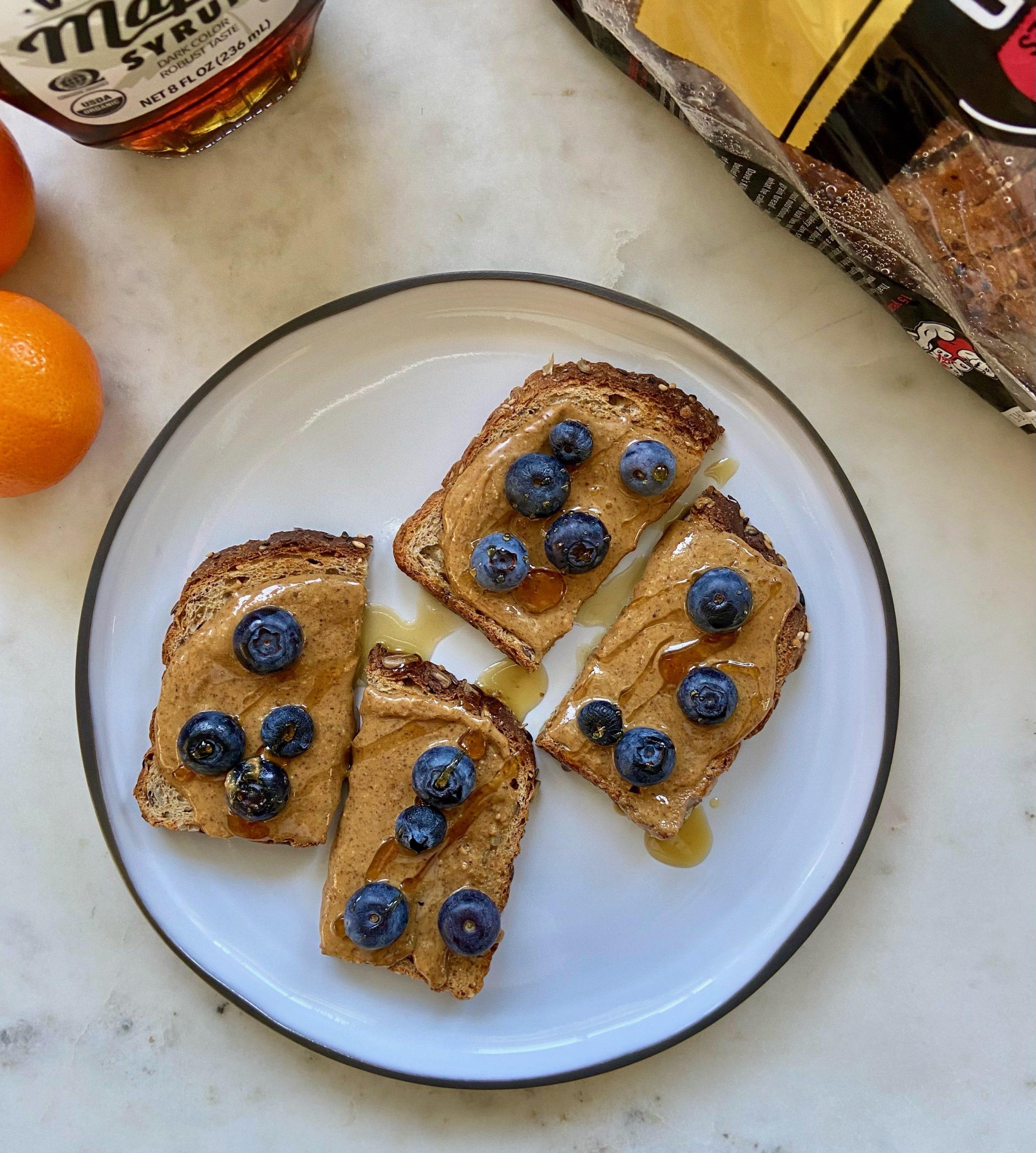 Easy toast breakfast