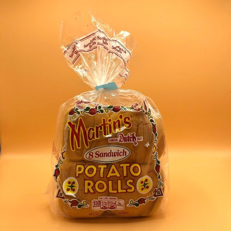 martin's potato rolls buns