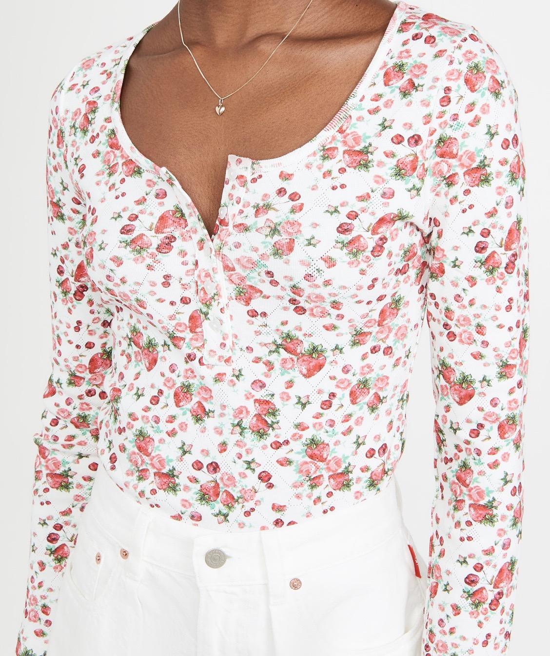 Love Shack Fancy Shirt