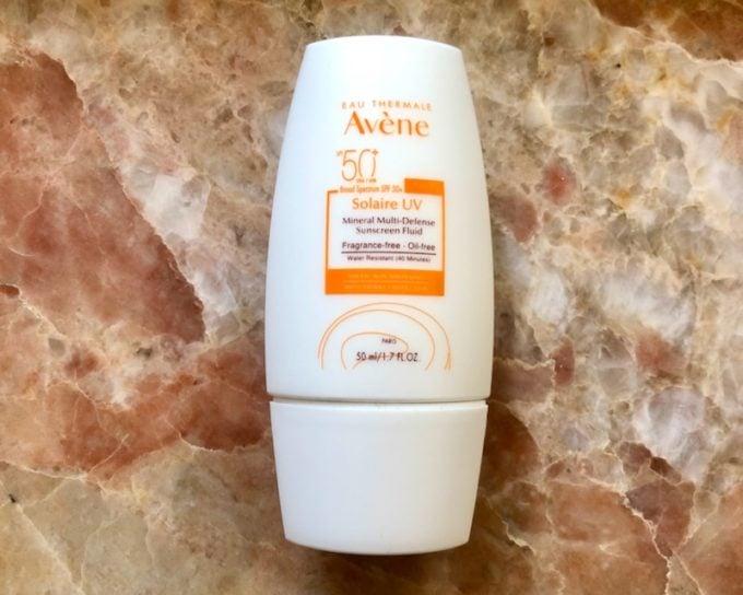 Avene Solaire Mineral Sunscreen
