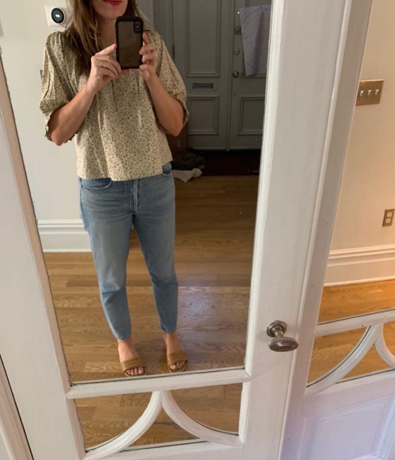 Joanna Goddard favorite jeans