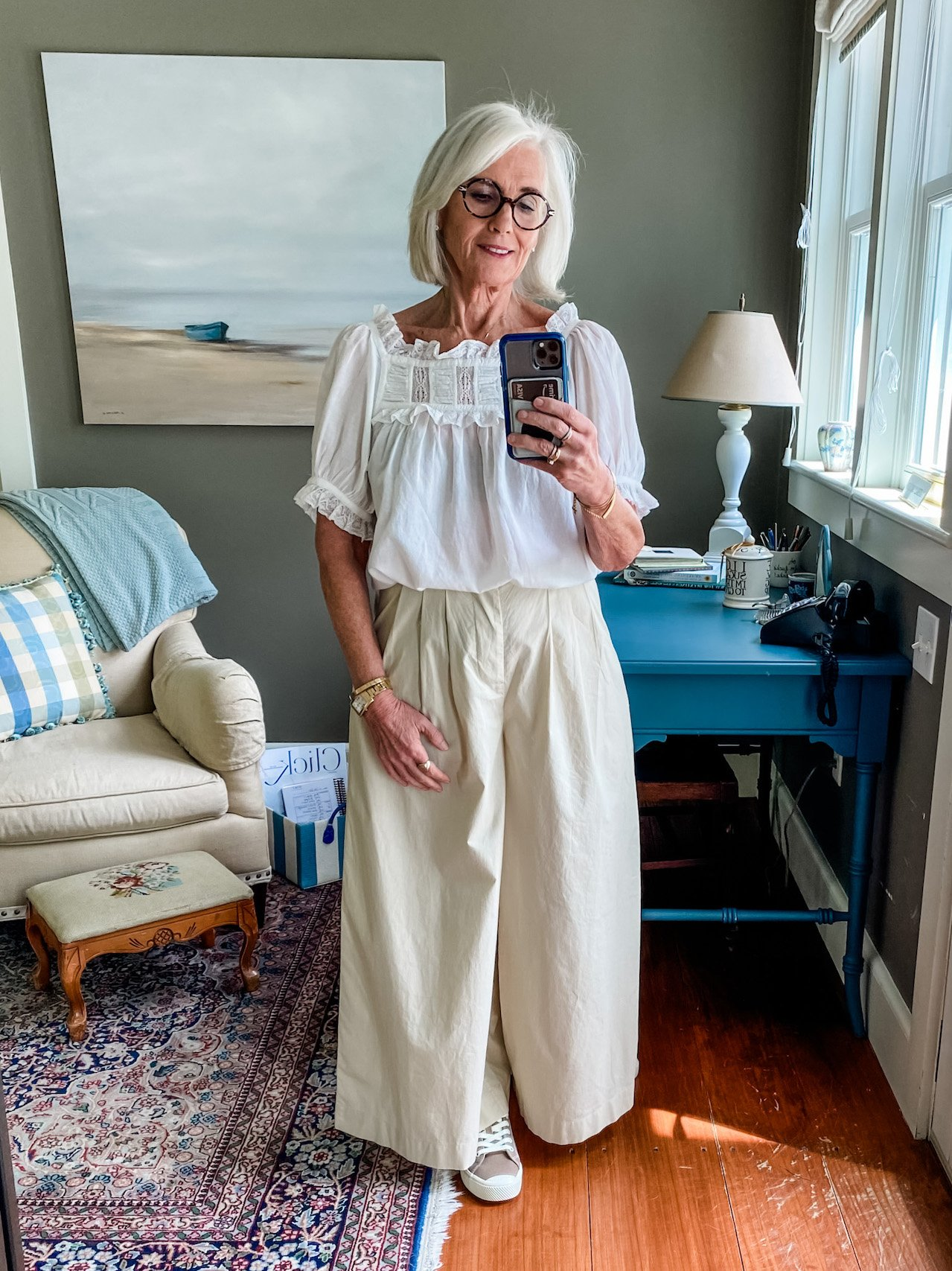 A Week of Outfits: Cheryl Sparks